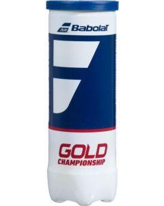 GOLD CHAMPIONSHIP BALLES PQT/3