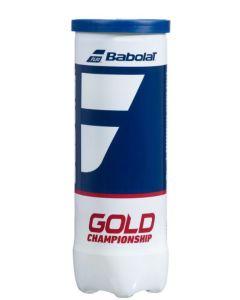 GOLD ALL COURT BALLES PQT/3