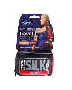 PREMIUM SILK TRAVEL LINER W/STRETCH LONG